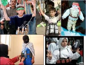 suicide bomber children