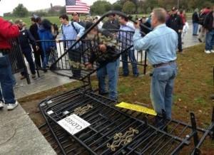 obama barricade