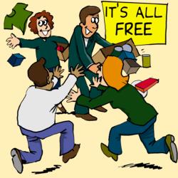 welfare handouts