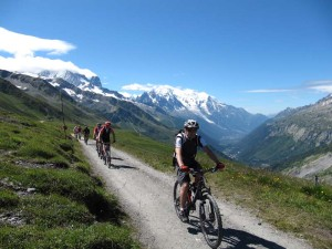 mountain biking excersise