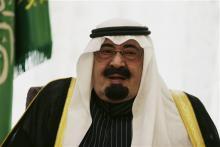 Saudi Arabian King Abdullah