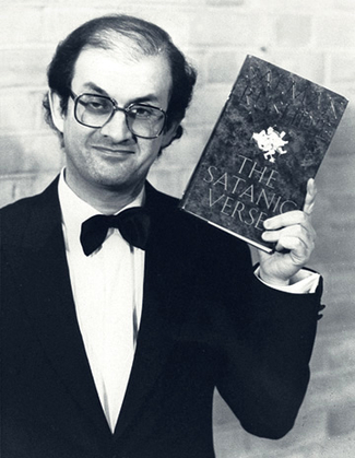 Salman Rushdie in 1989.