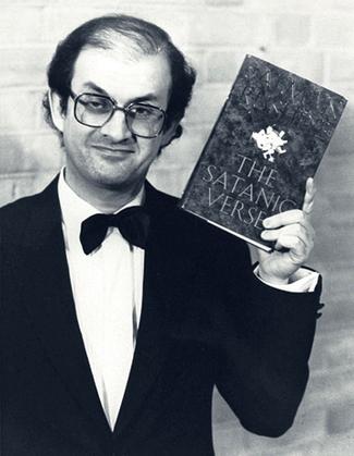 Salman Rushdie in 1989.