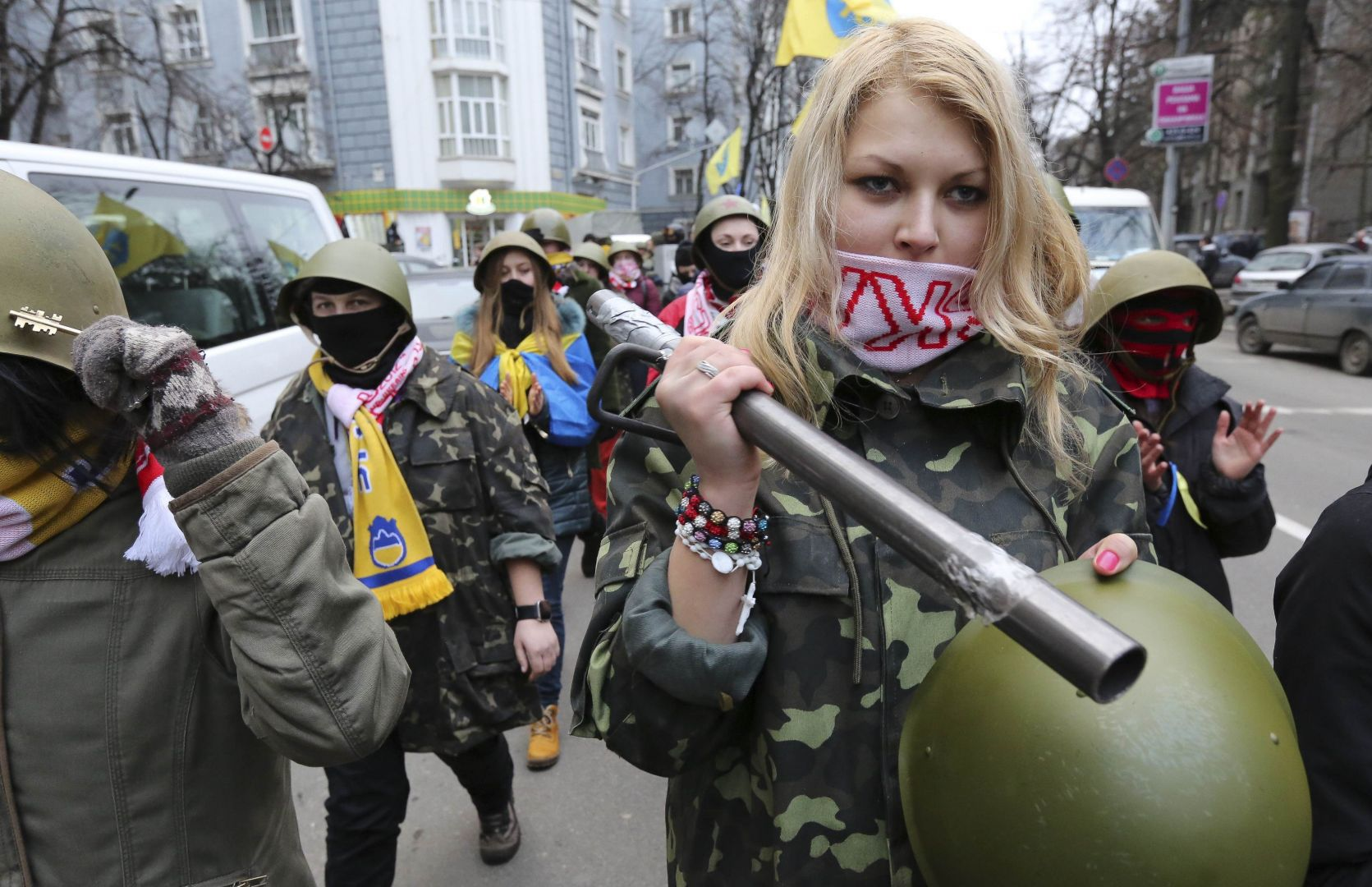 A New Cold War? Ukraine Violence Escalates, Leaked Tape ...