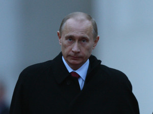 Merkel Meets With Vladimir Putin