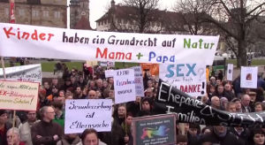 german protest homosexuality