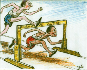 discrimination in affirmative action