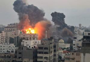 Hamas blown up