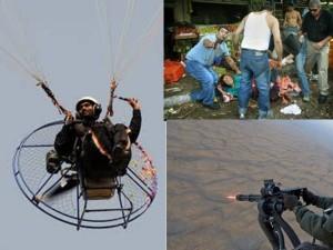 Hamas terrorist paraglider