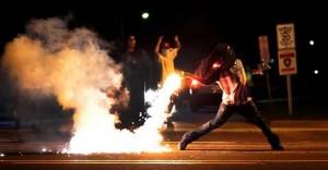 Blacks riot