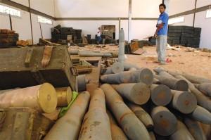Hamas stockpile missiles