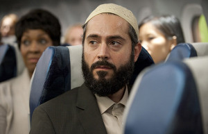 Muslim on plane