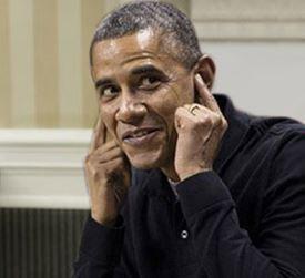 Obama not listening
