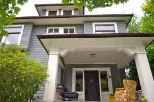 his house on Seattle's Capitol Hill is shared by 10 young professionals. Photos by Jackie Turner