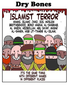 What do they ALL have in common?  ISLAM