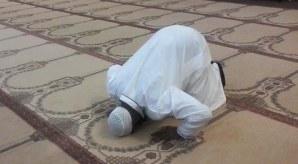 Terrorist praying