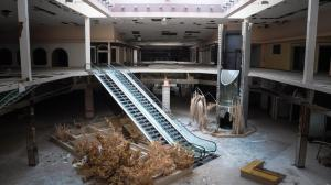 Abandoned mall due to liberal politicians.