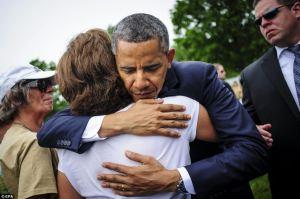 obama hugs nurse