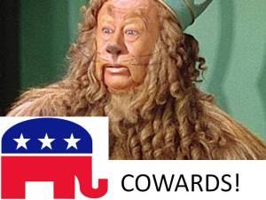 GOP Cowards