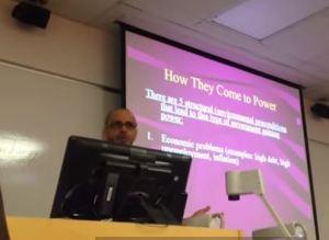 psychology professor Armstrong