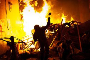 Ukraine: Night of clashes in Kiev