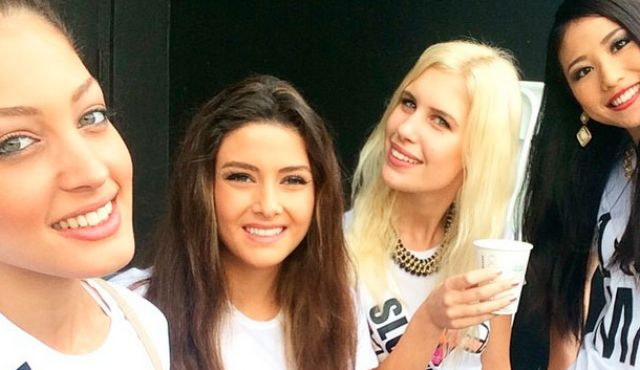 Miss Universe - Miss Israel and Lebanon