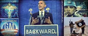 Obama Backwards