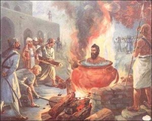 Sikh burned alive by Muslims