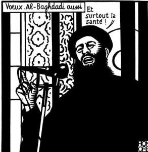 Charlie Hebdo's Last Tweet Before Shootings. Meilleurs vœux, au fait.