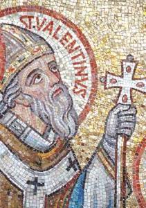 st valentine mosaic