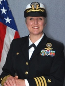 Fired Navy Capt. Heather E. Cole