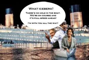 Obama Titanic