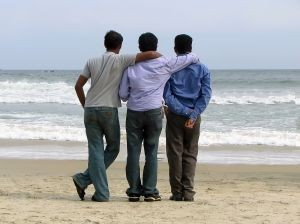 three homosexuals