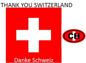 thank you Switzerland