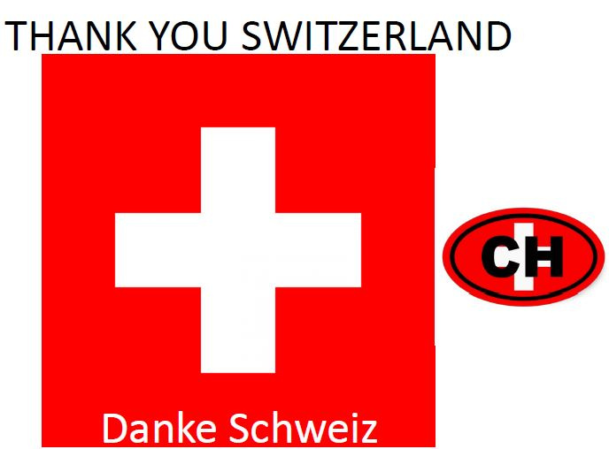how to say thank you in switzerland