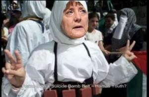 Merkel Terrorist