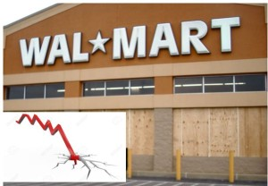 walmart stock collapse