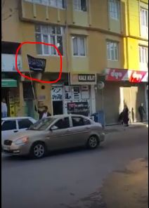 ISIS flag in Turkey Celebration