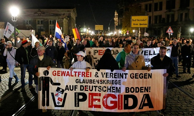 Thousands march against Muslim migrant invasion in Dresden