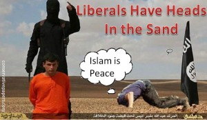 liberal heads in the sand to Islam