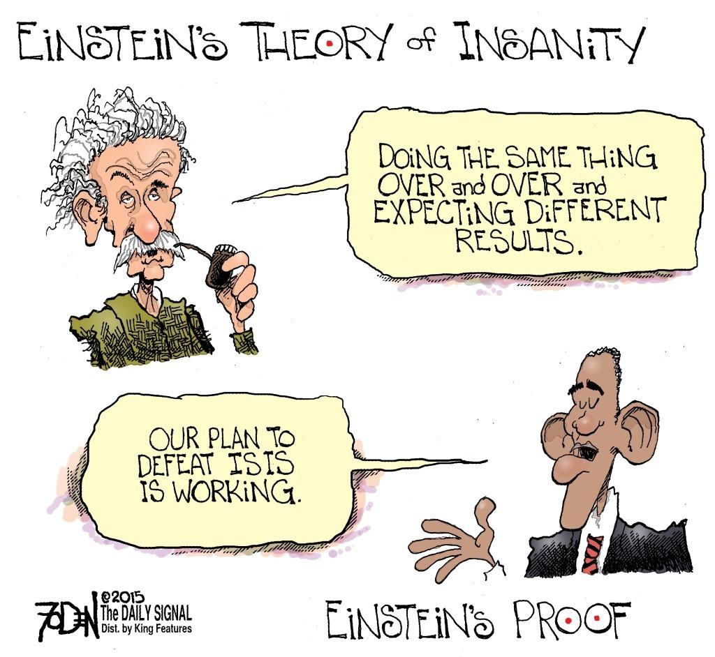 Einstein Statement Fits Obama