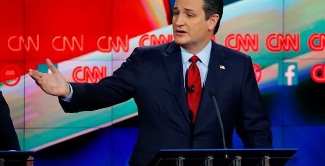 Ted Cruz at CNN Debate