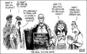 multiculturalism suicide bomb