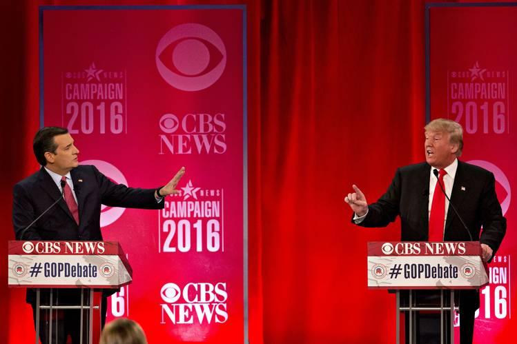Ted Cruz Debates Donald Trump at SC Debate