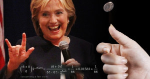 clinton-coin-toss
