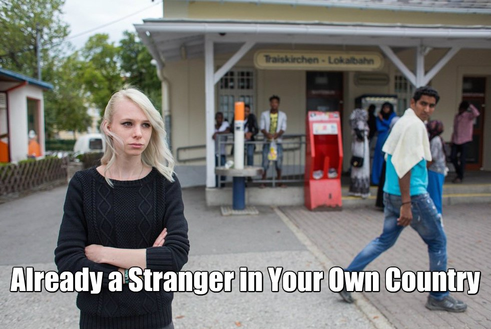 strager in your own country