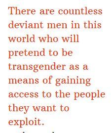 target transgenders