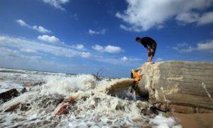 Gaza sewage outlet