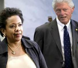 Clinton and Lynch Meeting