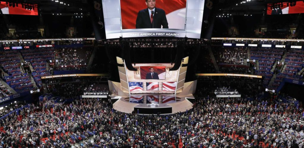 Cruz Speaks at RNC Convention